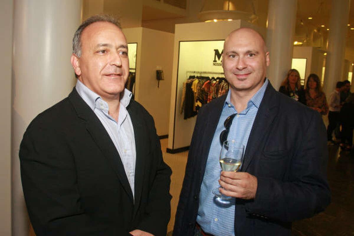 Mike Vaccaro, left, and Andrea Mazzoni