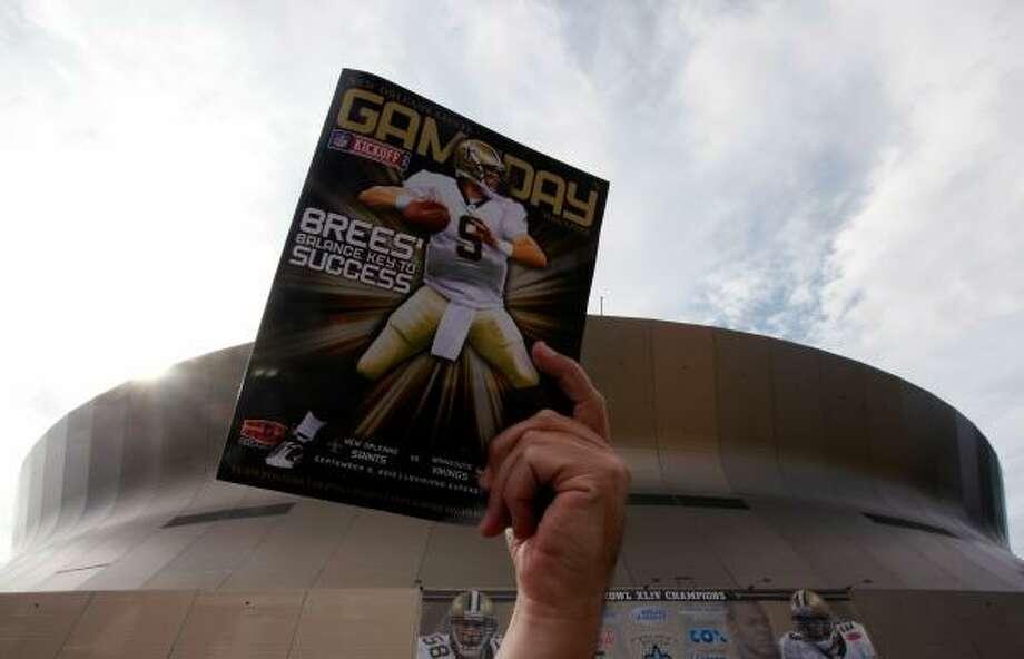 Mercedes-Benz Superdome – New Orleans Saints – $8.9 million per year. Photo: Chris Graythen, Getty Images