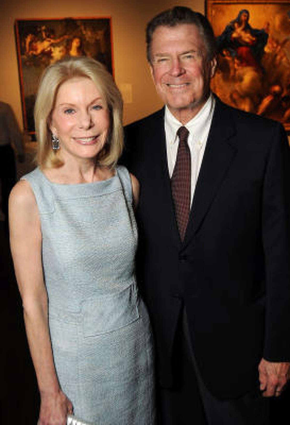 Frances and Peter Marzio