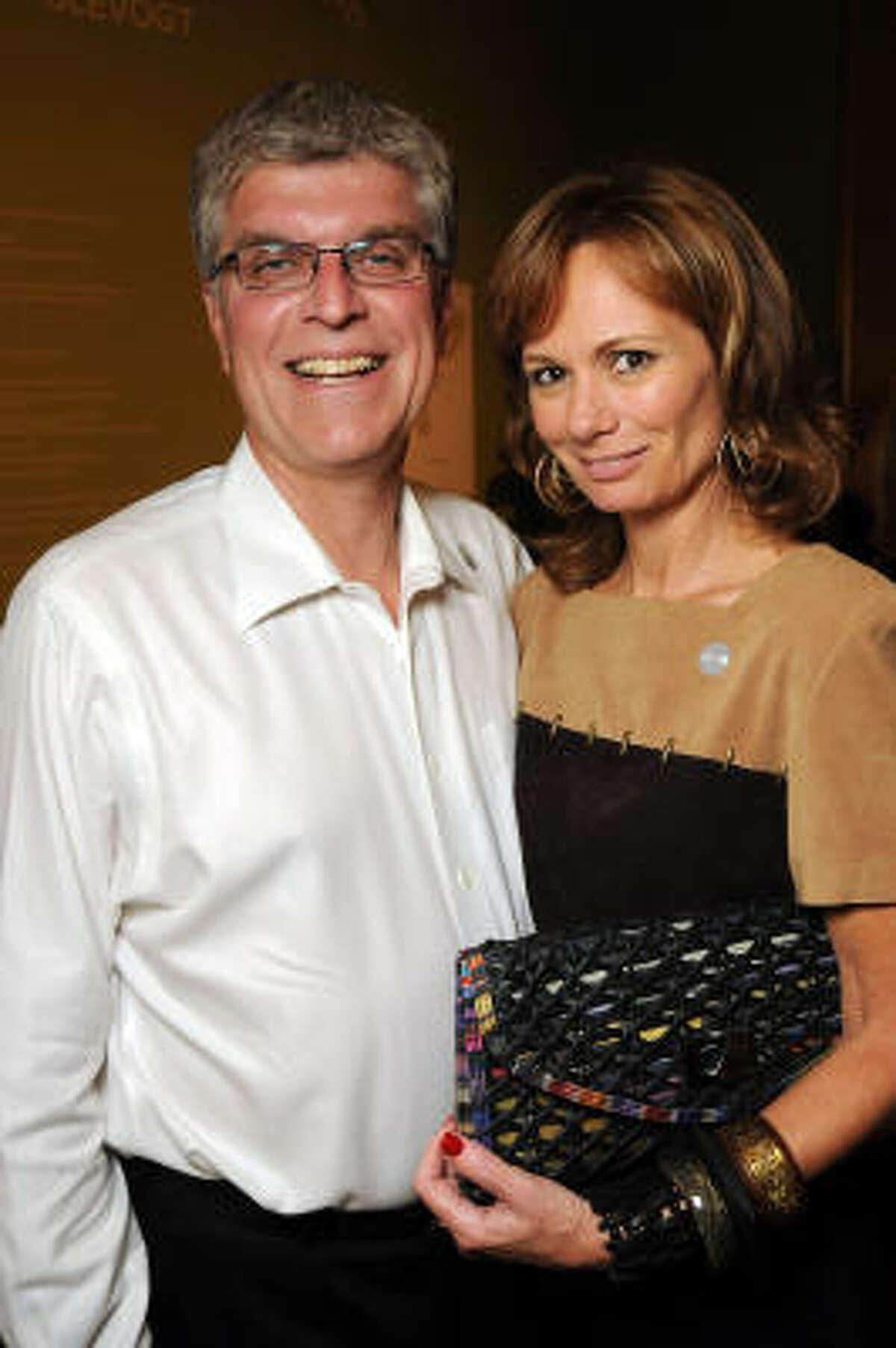 Richard Lyon and Trudi Gonseaux
