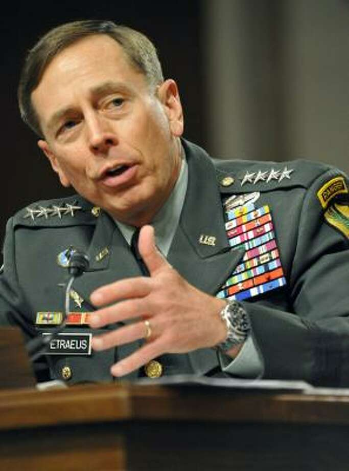 "Walters chose Gen. David Petraeus as her ""Most Fascinating Person"" in 2010.  Photo: KAREN BLEIER, AFP/Getty Images"