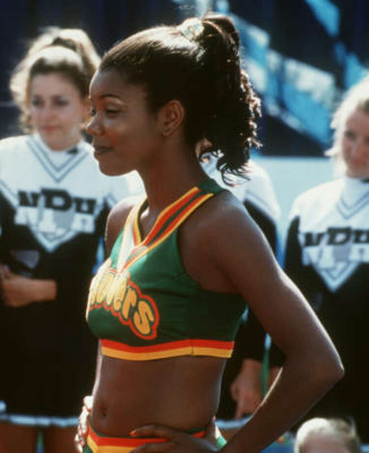 Gabrielle UnionShe brought it on in Bring It On … and in real life. Photo: Den Jacques, Universal Studios C2000