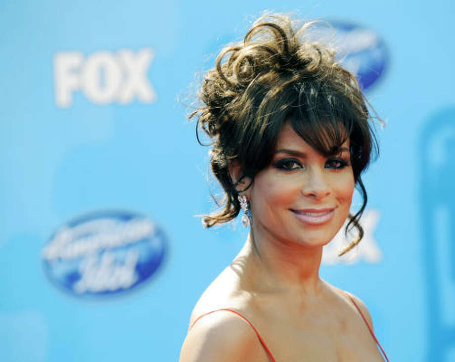 Paula Abdul She cheered for the L.A. Lakers and her high school in Van Nuys, California. Photo: Chris Pizzello, AP