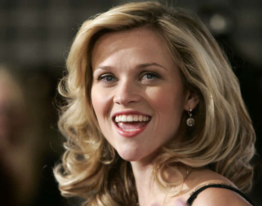 Reese WitherspoonThis little blond actress, a cheerleader? We're not surprised. Photo: MATT SAYLES, AP