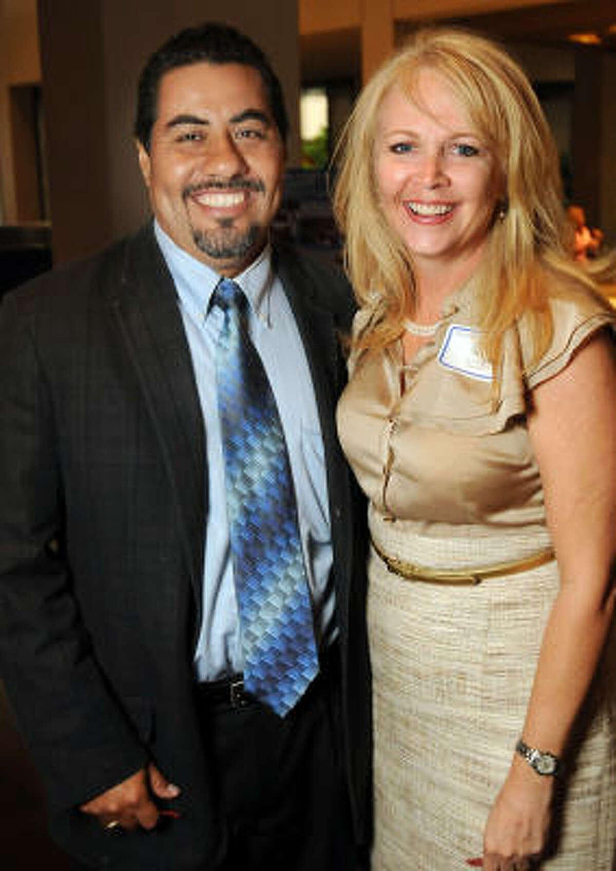 Frank Morales and Dana Nance