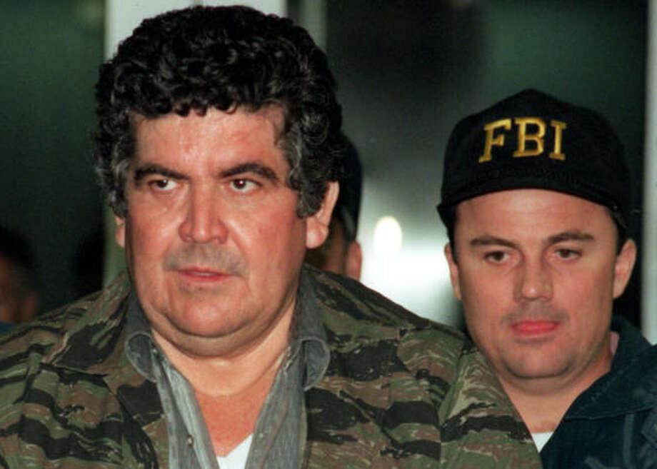 Juan Garcia Abrego: Imprisoned. A U.S. citizen serving multiple life sentences. Photo: Kerwin Plevka, Chronicle