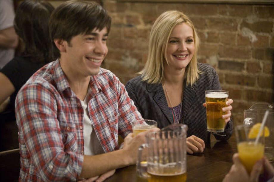 "A scene from their now-ironically titled movie, ""Going the Distance."" Justin Long and Drew Barrymore starred in the rom-com about a couple who tries to maintain a relationship despite thousands of miles between them. Photo: New Line Cinema"