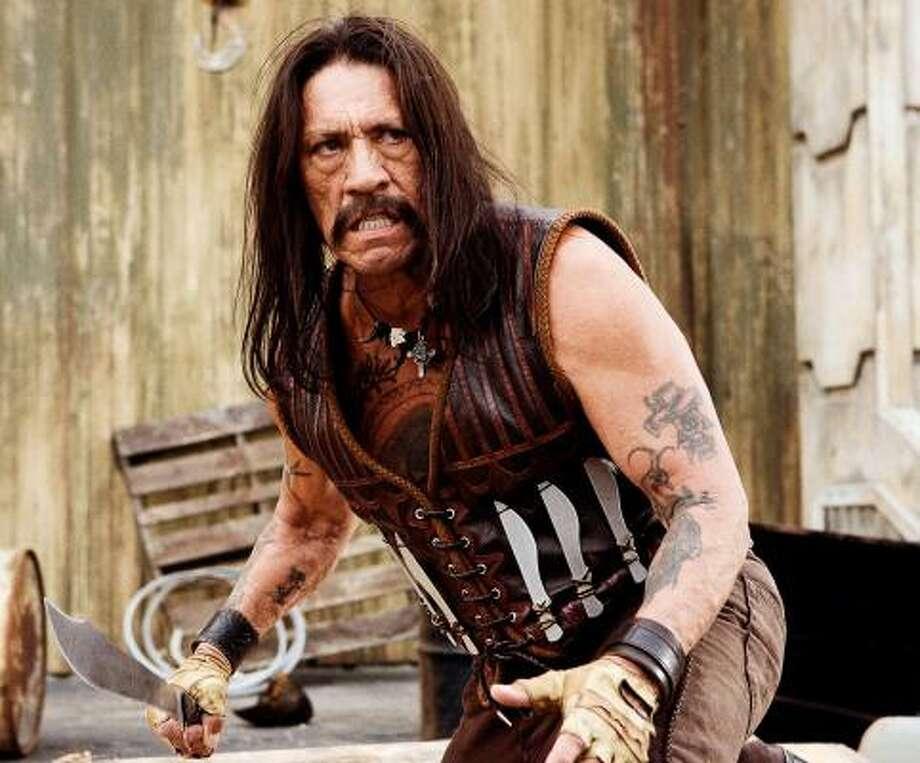 Danny Trejo: lead in Machete, role in Fanboys, role in From Dusk Till Dawn, role in Con Air. Photo: Joaquin Avellán, AP