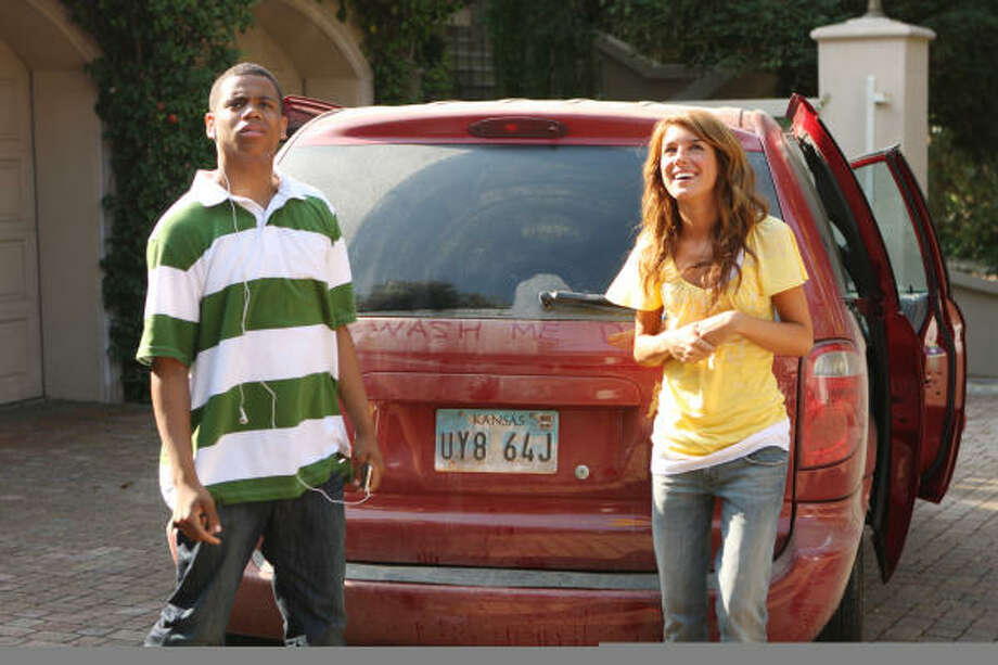 Tristan Wilds stars as Dixon with Shenae Grimes. What's the zip? 90210 of course! Photo: Michael Desmond, AP