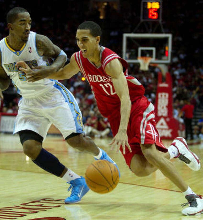 Rockets guard Kevin Martin averages more points per shot than any other top 20 scorer. Photo: Smiley N. Pool, Chronicle