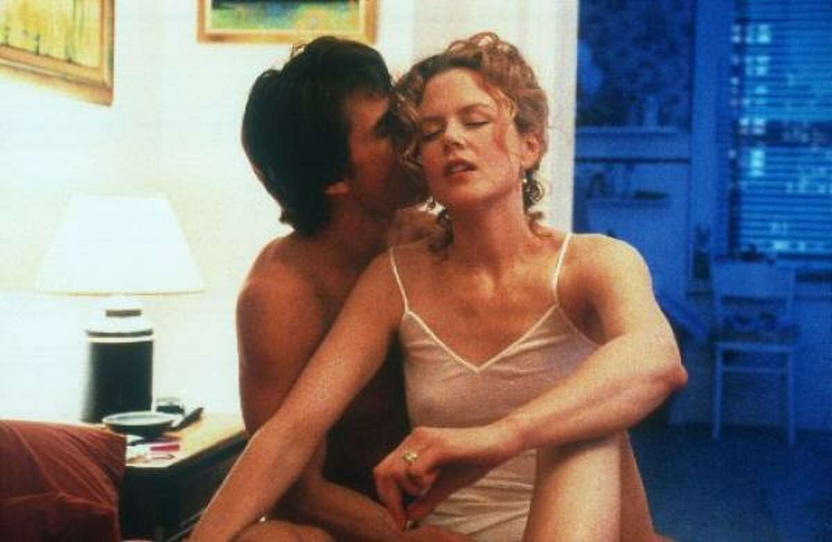Tom Cruise met future wife Nicole Kidman on the set of Days of Thunder. They later divorced.