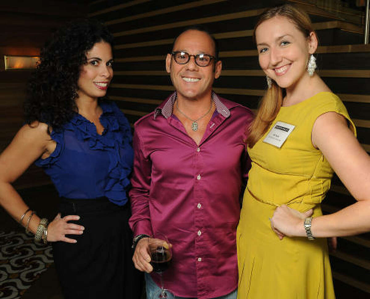 From left: Samira Salman, Ben Shenker and Jill Scott