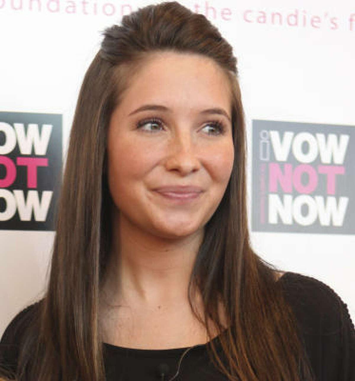 Bristol Palin, daughter of former Alaska Gov. Sarah Palin