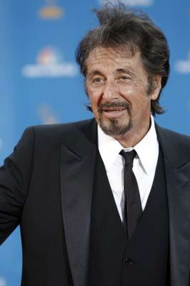 Al Pacino must have rolled out of bed and into a wind storm. Photo: Matt Sayles, AP