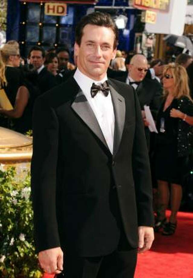 "Jon Hamm is a ""mad"" yet handsome man in Giorgio Armani. Photo: Jason Merritt, Getty Images"