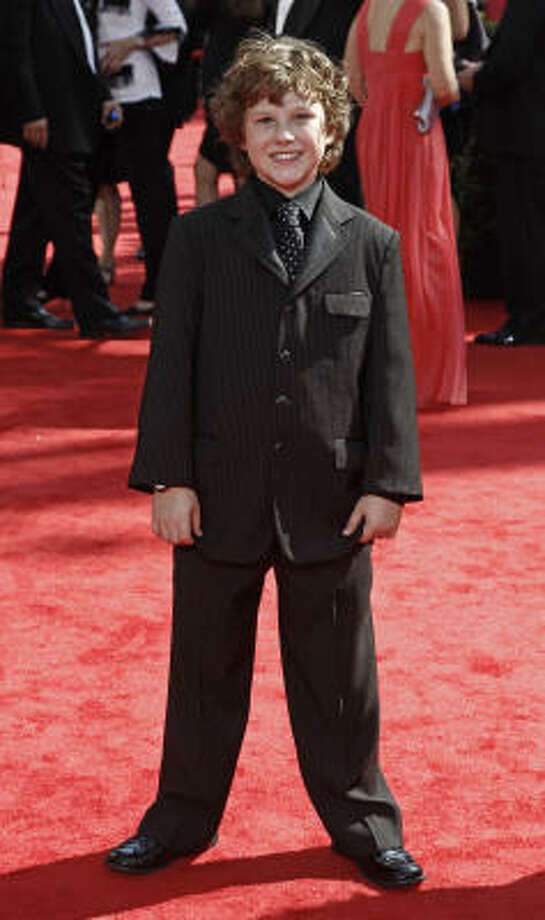 Nolan Gould – Best look in the under-three-feet-tall category. Photo: Matt Sayles, AP