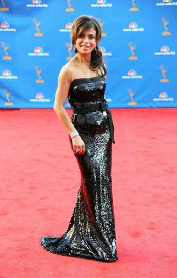Paula Abdul – How to do sequins without going overboard. Photo: Frazer Harrison, Getty Images