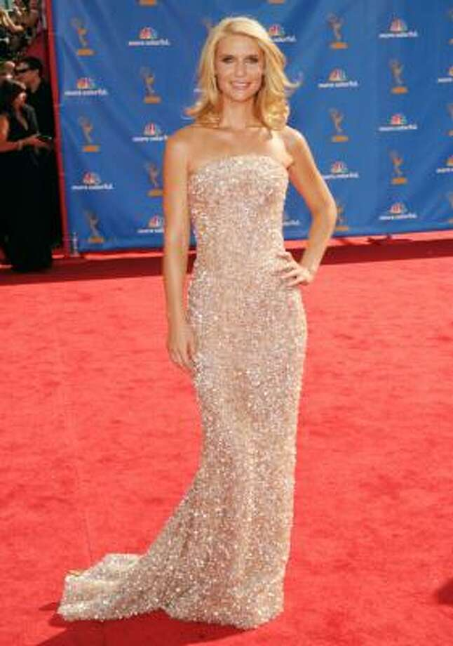 Claire Danes – Sparkly dress for a sparkly personality. Photo: Jason Merritt, Getty Images