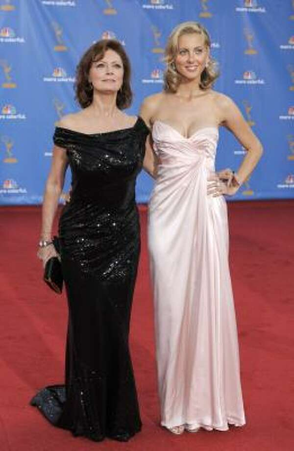 Susan Sarandon and daughter Eva Amurri – Two generations of iconic Hollywood beauty. Photo: Chris Pizzello, AP
