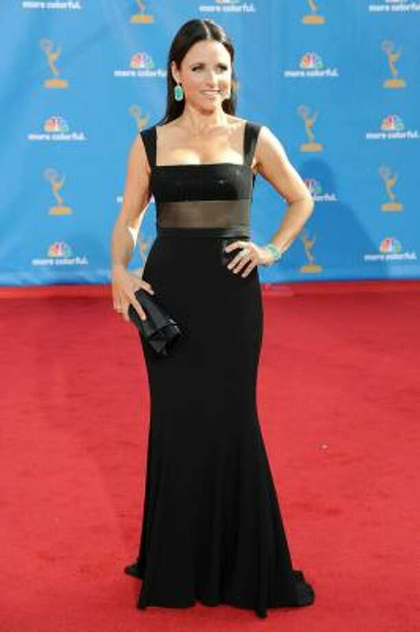 Julia Louis-Dreyfus shows how to look sexy over 40. Photo: Frazer Harrison, Getty Images