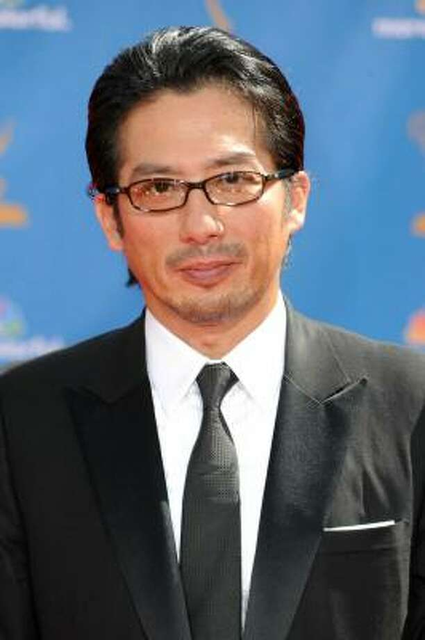 Hiroyuki Sanada rocks his eyeglasses. Photo: Frazer Harrison, Getty Images