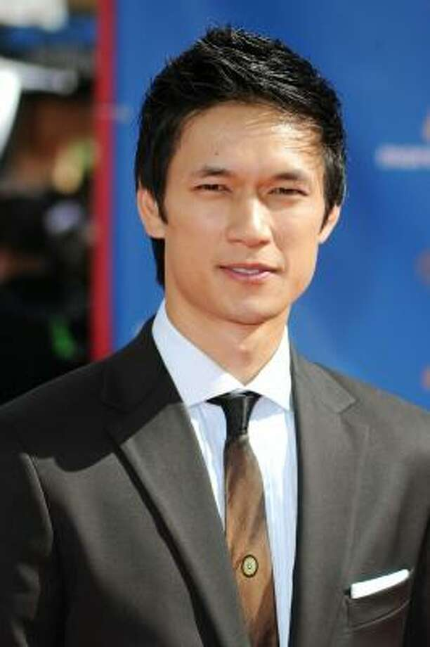 Harry Shum Jr. keeps it cool. Photo: Frazer Harrison, Getty Images