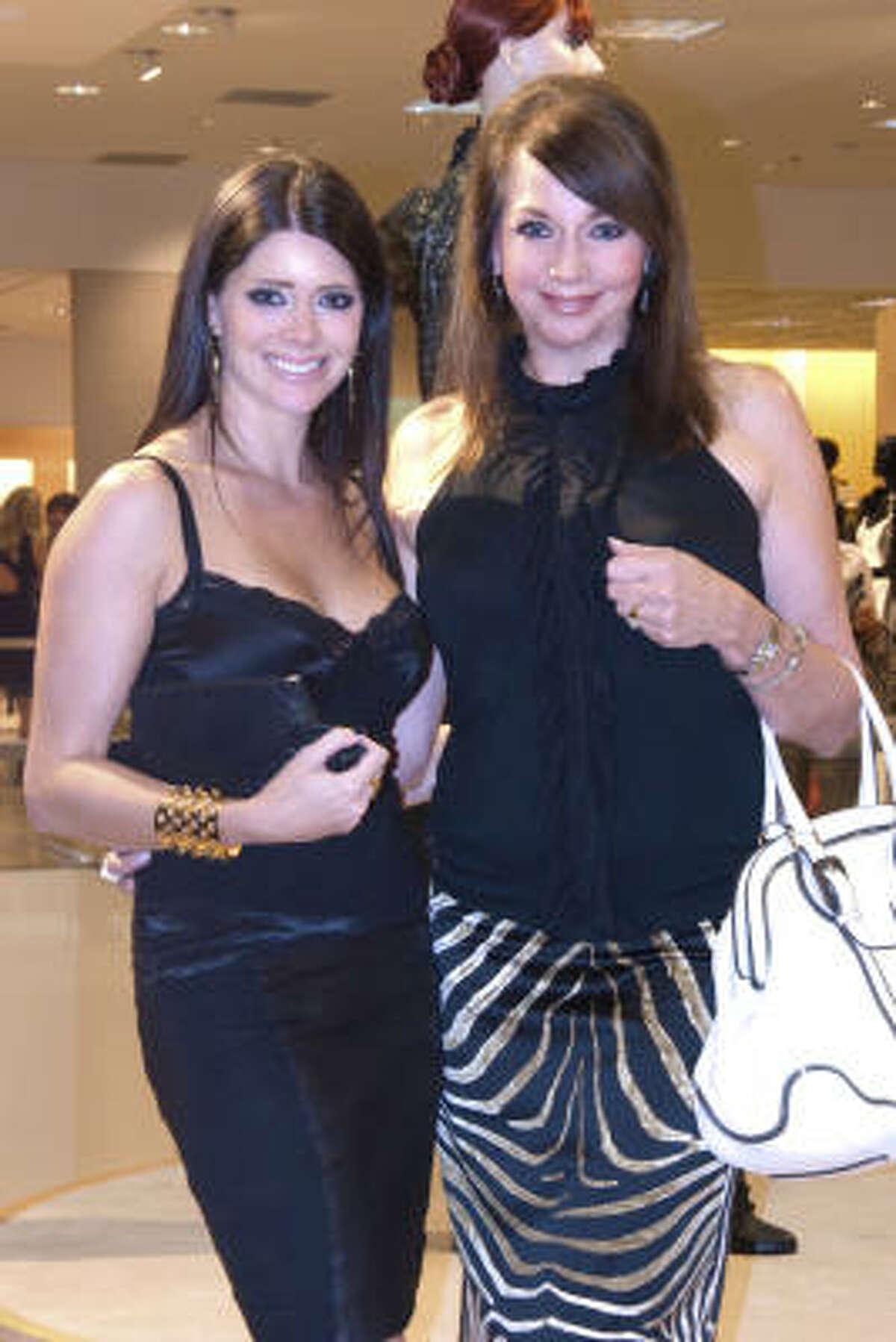 Kirsten Guerra and Anita Guerra