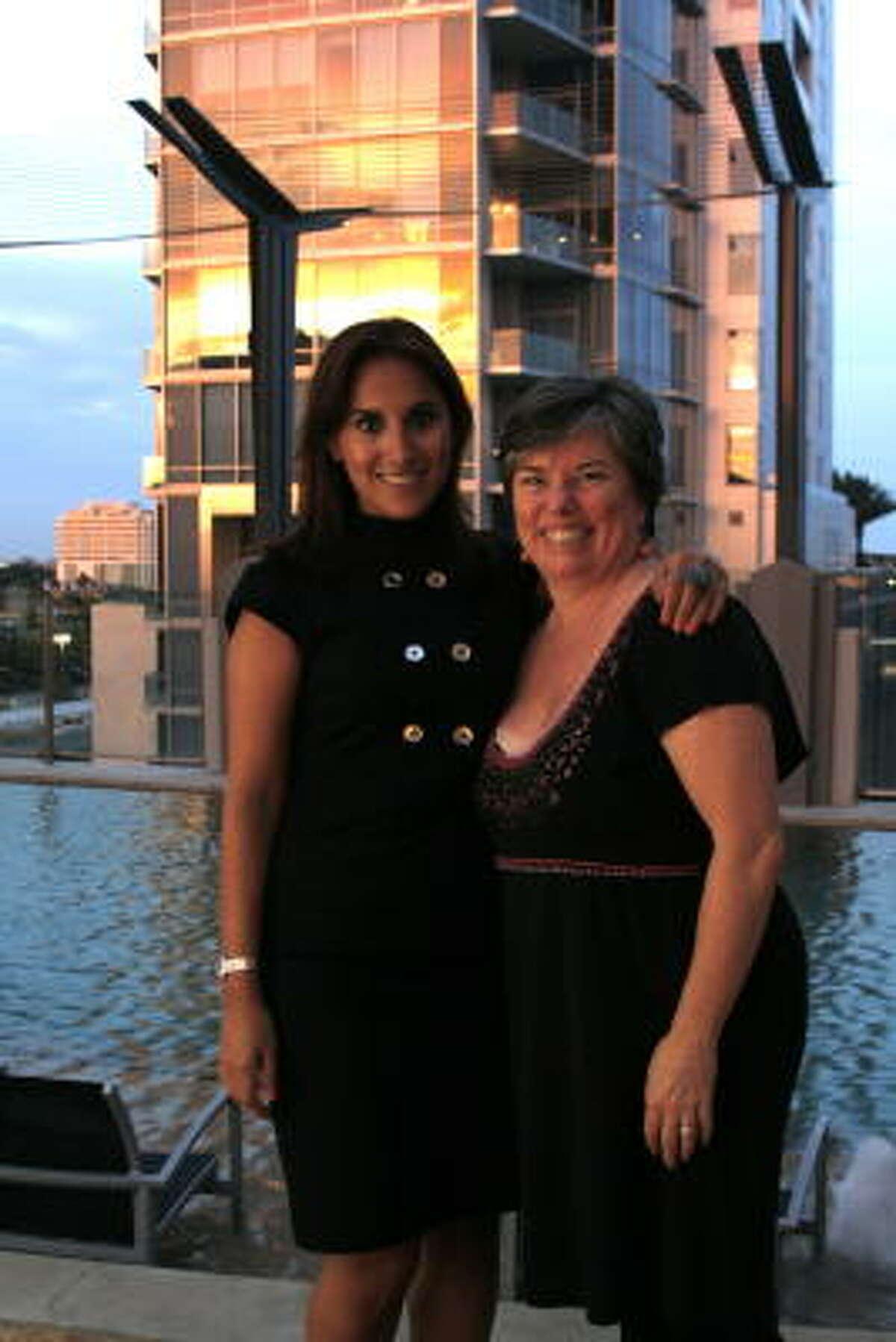 Crystal Heydari and Marcia Tapp