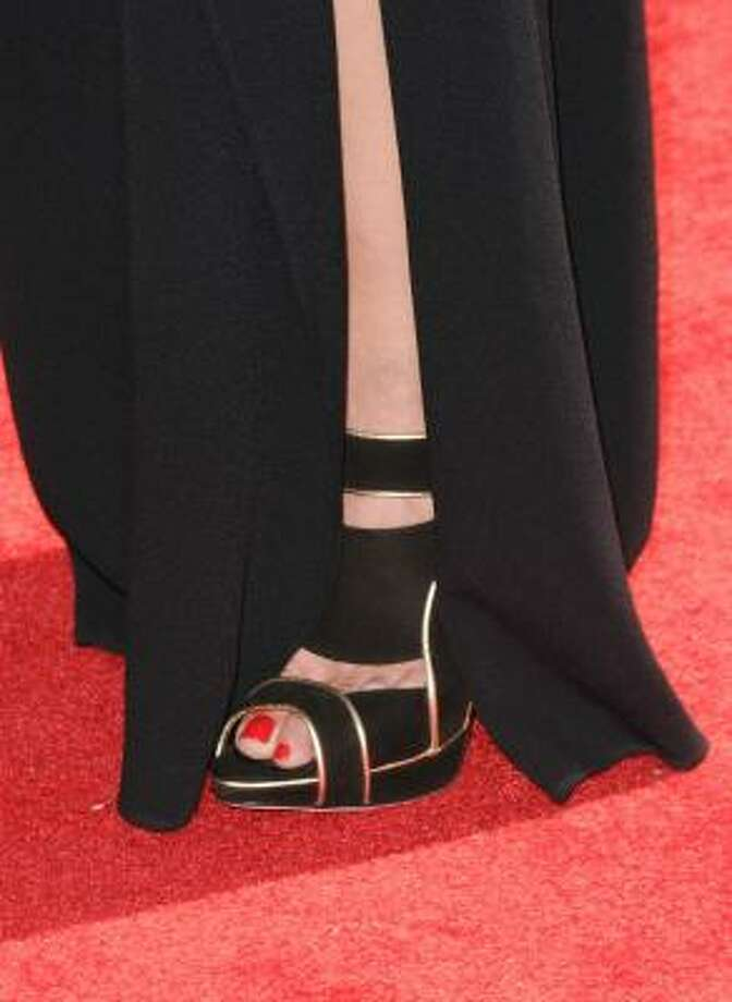 Lauren Graham's shoes. Photo: Jason Merritt, Getty Images