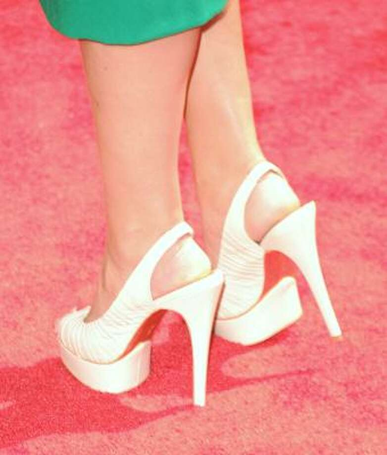 Reality star Lo Bosworth's heels are high. Photo: Jason Merritt, Getty Images