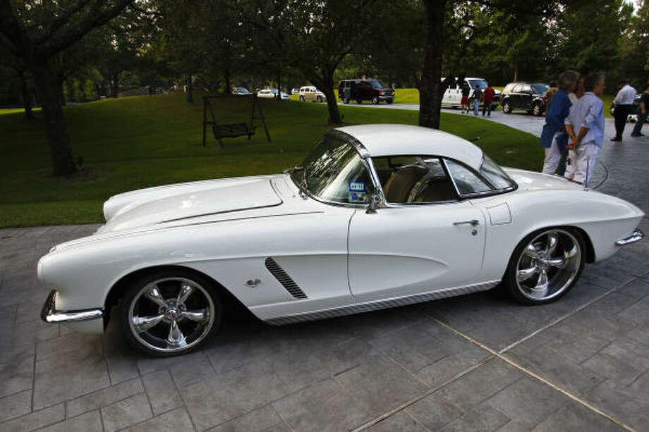 1962 Corvette convertible. Photo: Michael Paulsen, Chronicle