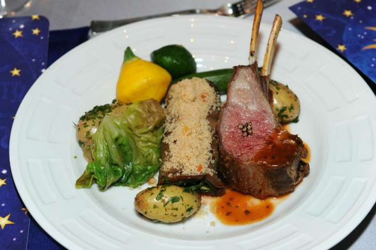 Food at the 62nd Primetime Emmy Governors Ball Press Preview Day.
