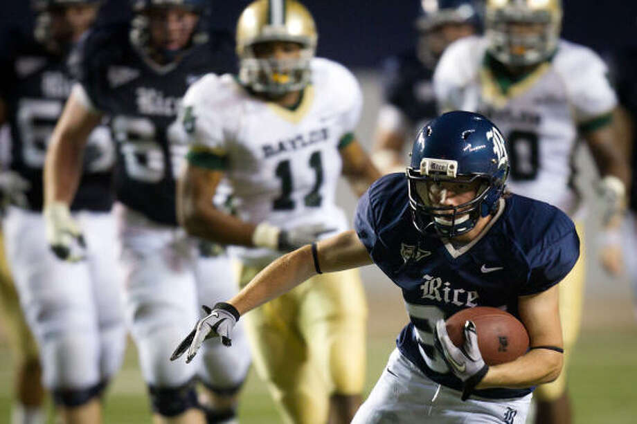 Rice entered each of its four non-conference game as the underdog and emerged with a 1-3 record. Photo: Smiley N. Pool, Chronicle