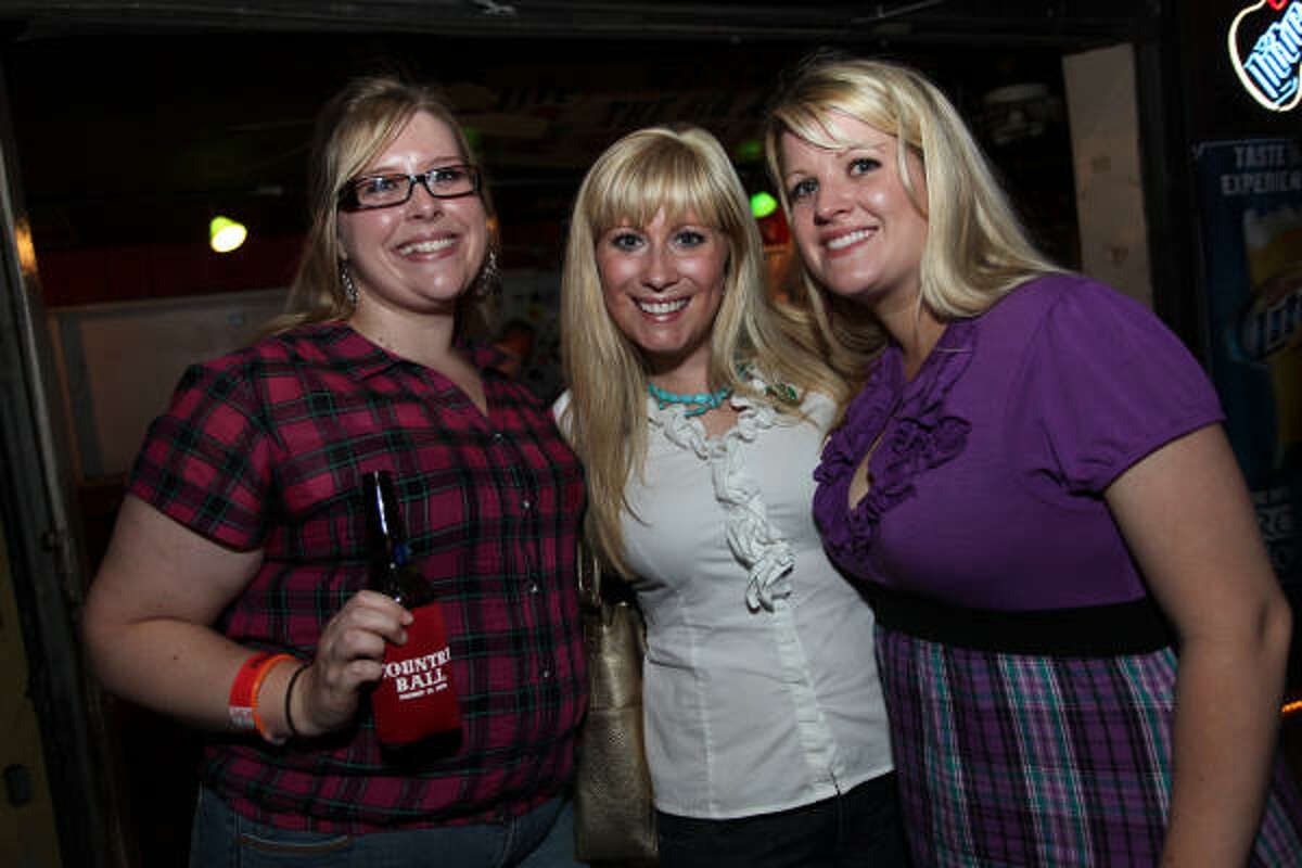 From left: Allyson Stone, Julie Young and Tiffany Stokes