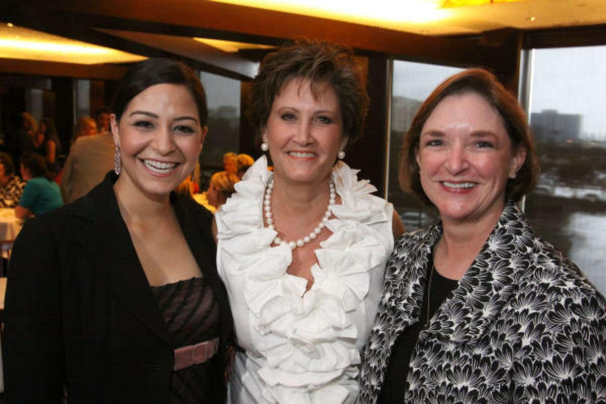 Selena Van Prooyen, Gail Wells and Kathleen Williams