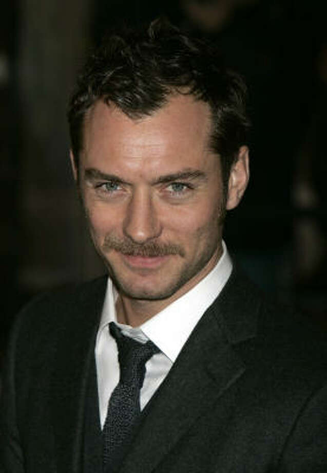 Hasn't been written, but totally should be…Jude Law: How to Vet the Nanny Photo: AKIRA SUEMORI, AP