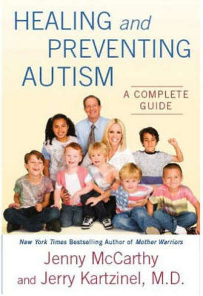 McCarthy co-wrote Healing and Preventing Autism with doctor Jerry Kartzinel as a guide to t