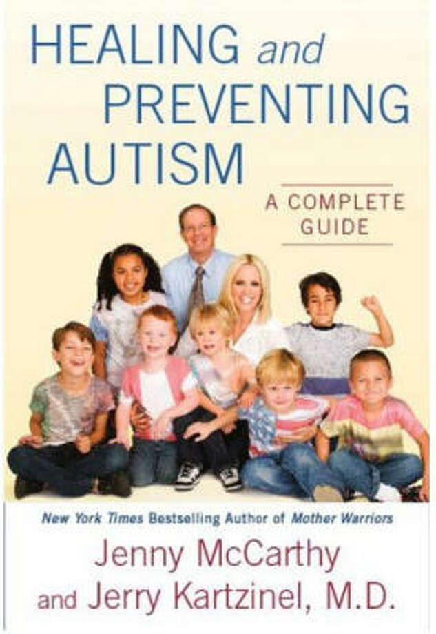 McCarthy co-wrote Healing and Preventing Autism with doctor Jerry Kartzinel as a guide to the treatments she says worked for her autistic son. Photo: Amazon.com