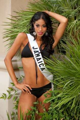 Yendi Phillipps, Miss Jamaica Photo: Darrren Decker, AP