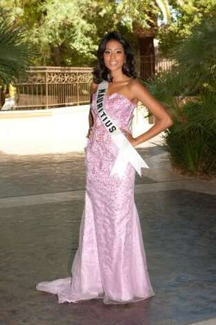 Dalysha Doorga, Miss Mauritius Photo: Darren Decker, AP