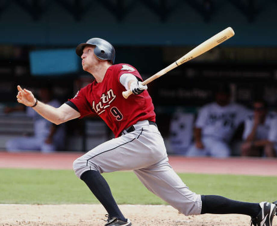 Aug. 23: Astros 2, Marlins 1Hunter Pence hit a tie-breaking solo home run in the eighth inning. Photo: Wilfredo Lee, AP