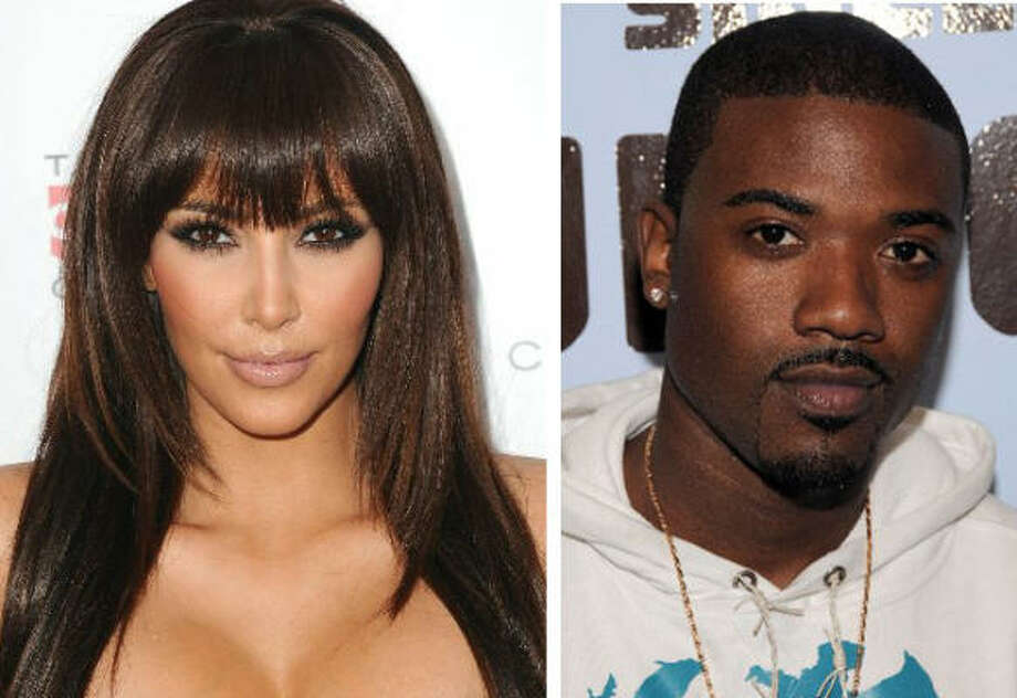 1. The sex tape:When a tape was leaked showing Kim in compromising positions with then-boyfriend Ray J, her career (and notoriety) got a bit of a boost. Ray J's however, did not. Photo: Getty Images