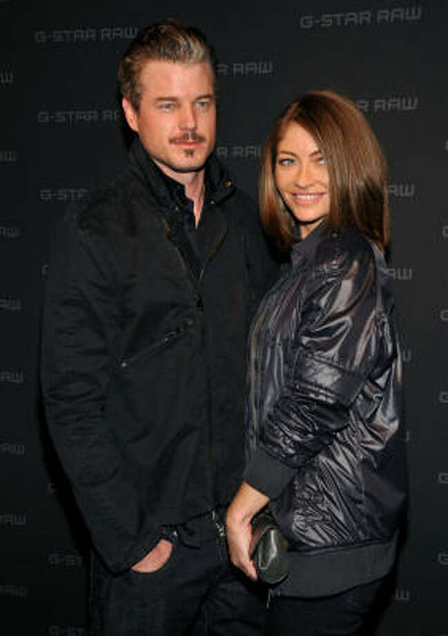 McSteamy Eric Dane and formerly 'good-girl'  wife Rebecca Gayheart ended up on Gawker.com, featuring a taped romp with a former Miss Teen USA - complete with drug use. Photo: Bryan Bedder, Getty Images For IMG