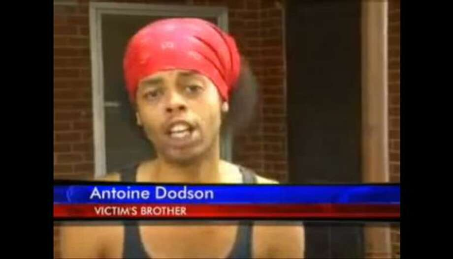 "Antoine Dodson, the ""Bed Intruder"" songLittle thing:An interview with a local TV station about an intruder in his sister's house