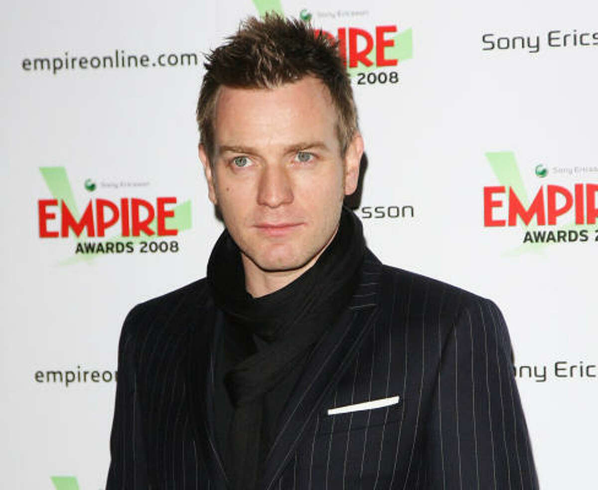 50. Ewan McGregor, The Ghost Writer, Angels & Demons, Star Wars Episode III