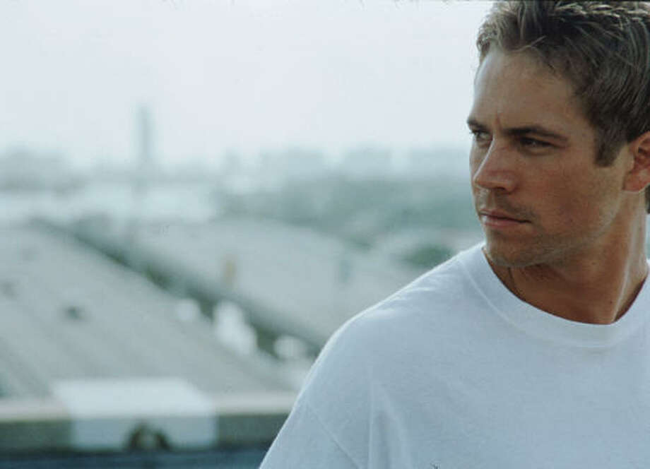Paul Walker in '2 Fast, 2 Furious.' Photo: Universal Studios C2003