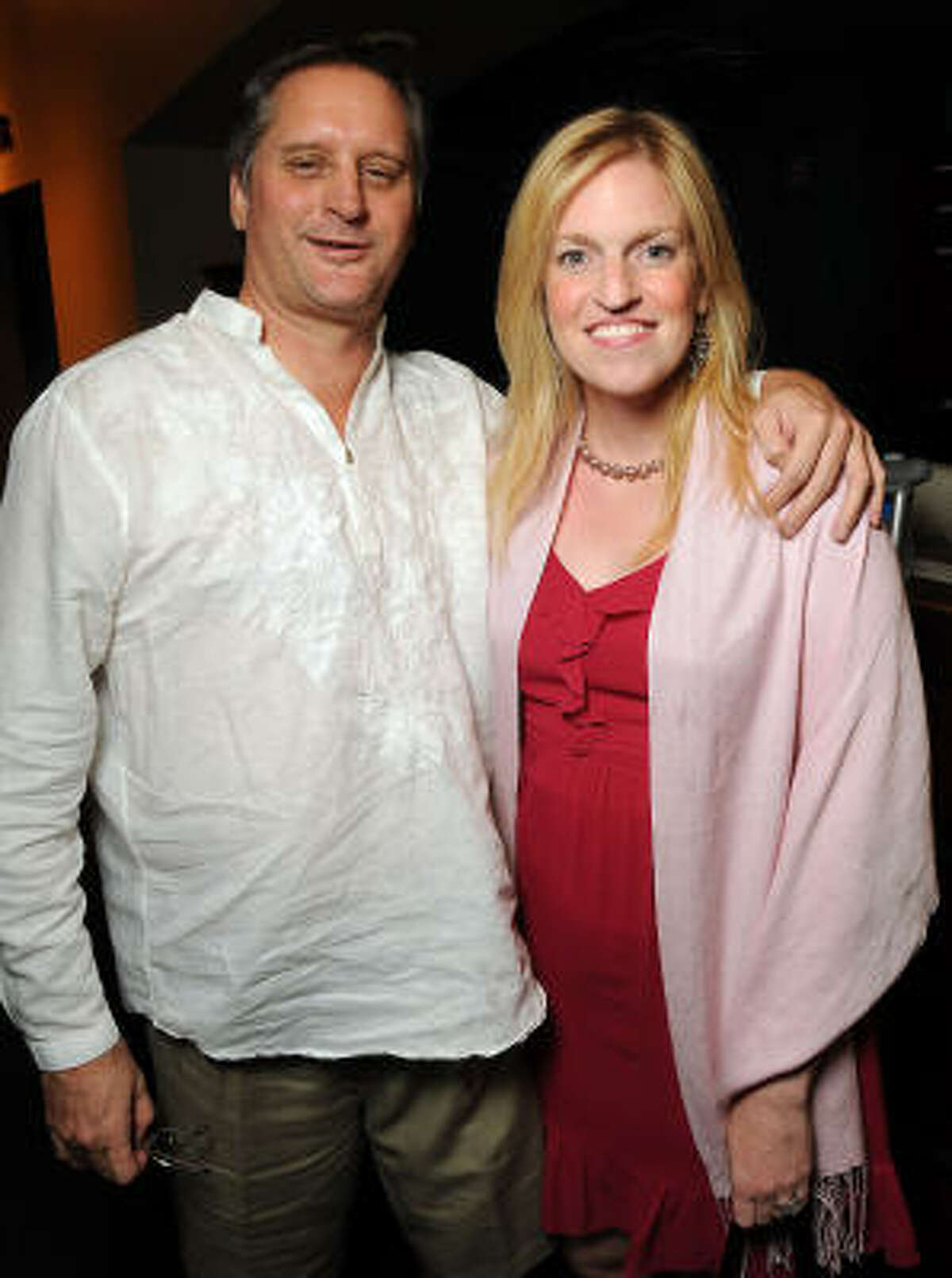 Don Hooper and Rachel Palmer