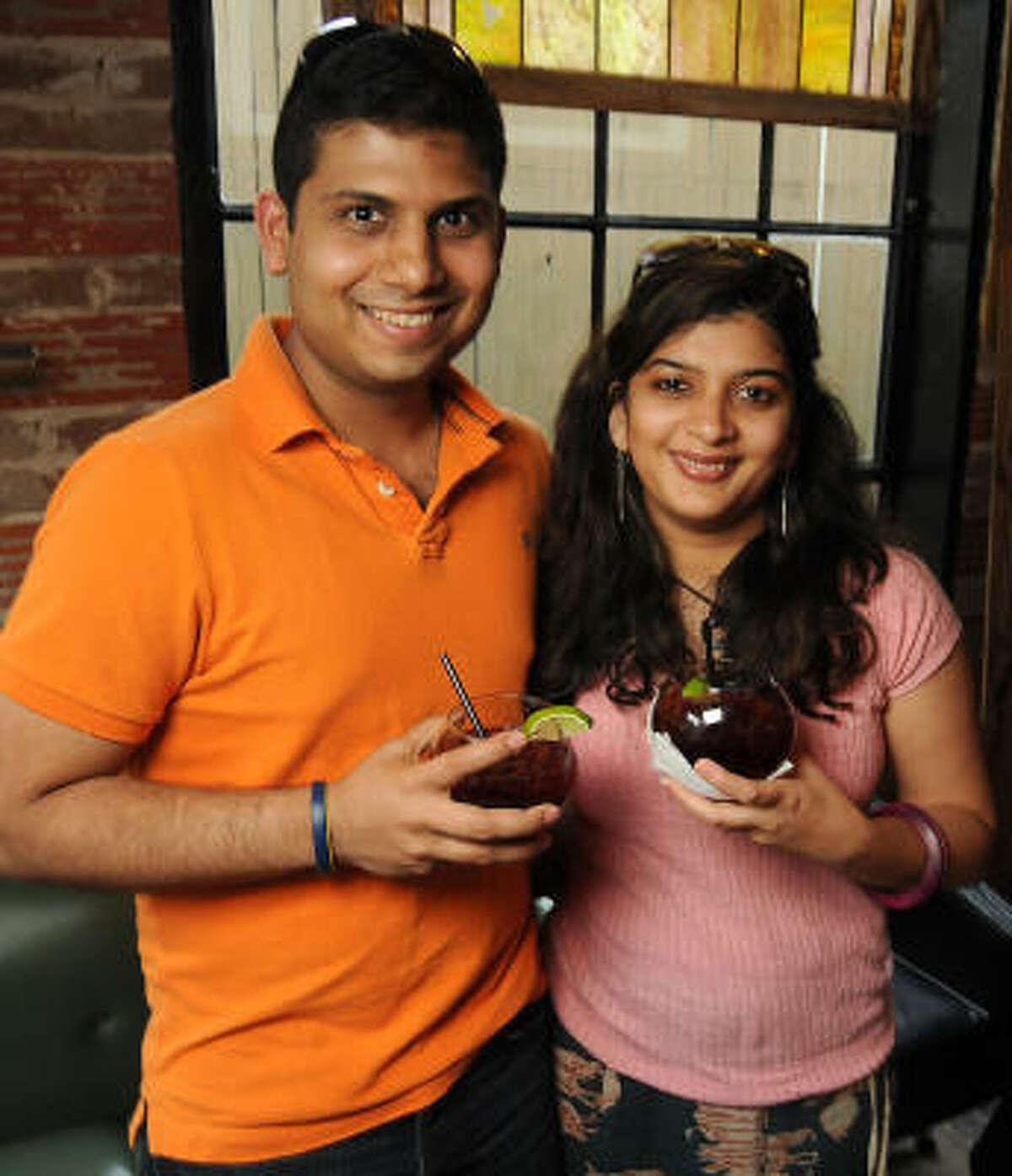 Chinar Aphale and Komal Kotwal