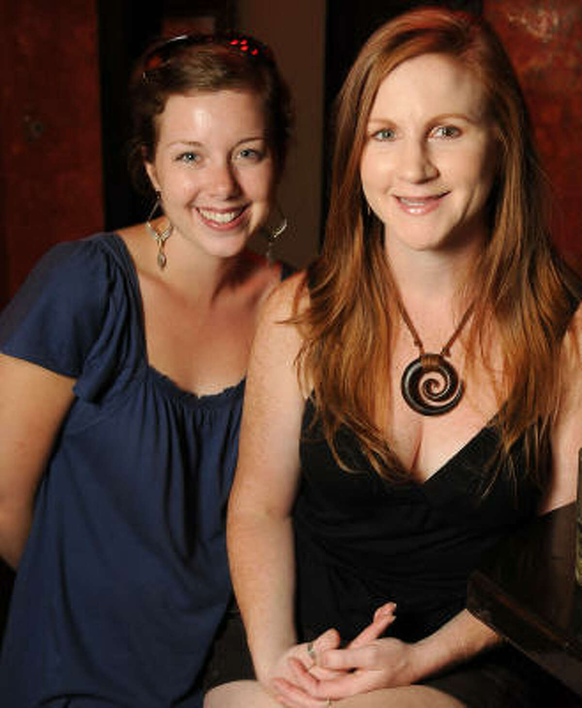 Katie Plocheck and Kelly Robertson