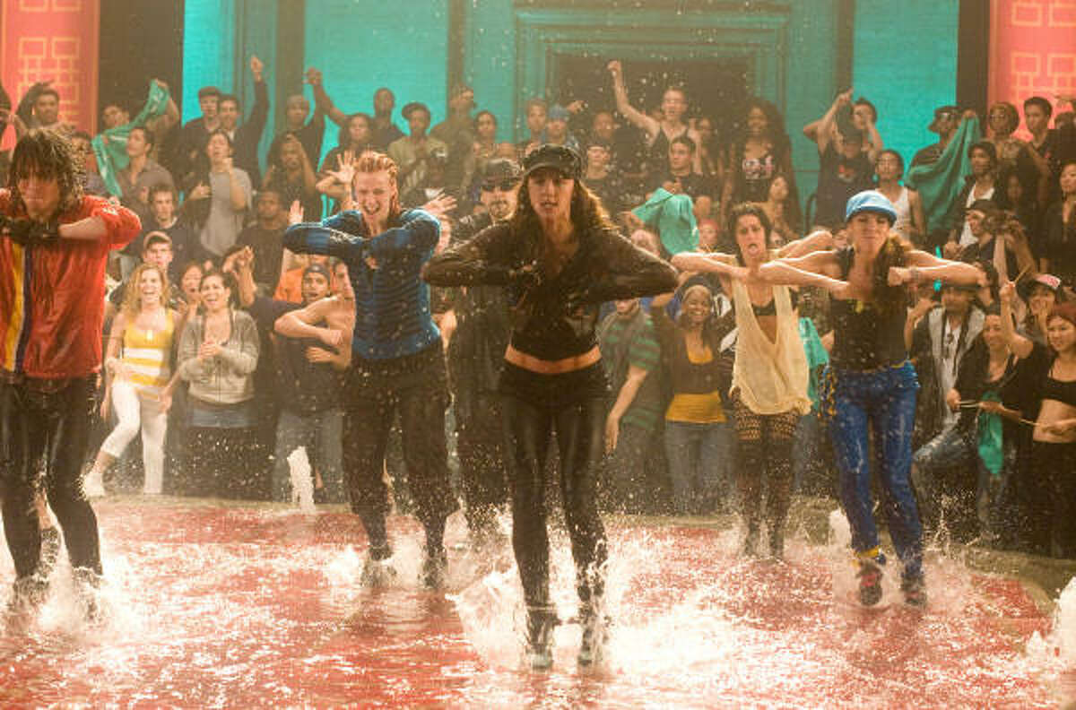 Step Up 3D , $6.6 million: A tight-knit group of New York City street dancers find themselves in a high-stakes dance showdown.